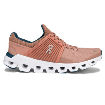 Picture of ON ROAD RUNNING SHOES CLOUDSWIFT BLUSH/ DENIM FOR WOMEN