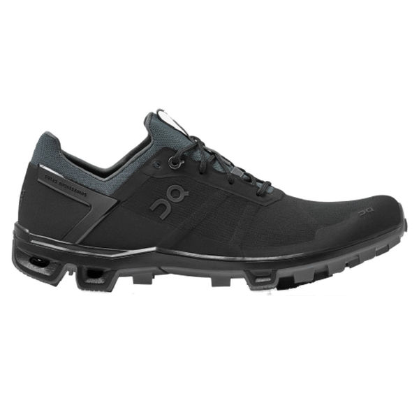 Image sur SOULIERS DE COURSE EN SENTIER ON CLOUDVENTURE PEAK BLACK/ ROCK POUR HOMME
