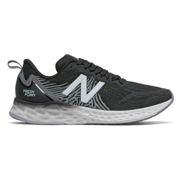 Picture of NEW BALANCE ROAD RUNNING SHOES FRESH FOAM TEMPO BLACK WITH LEAD & MOON DUST FOR WOMEN