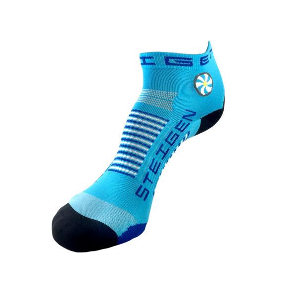 Picture of STEIGEN SOCKS 1/4 LENGTH BREEZY BLUE
