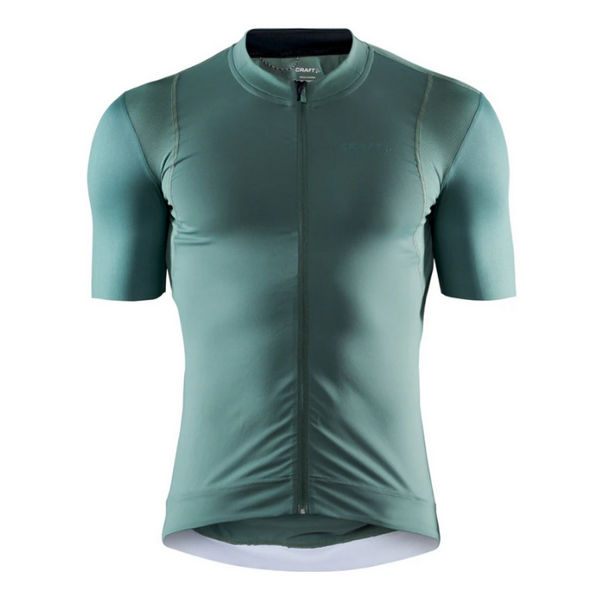 Picture of CRAFT BIKE JERSEY SURGE LUMEN MOSS FOR MEN