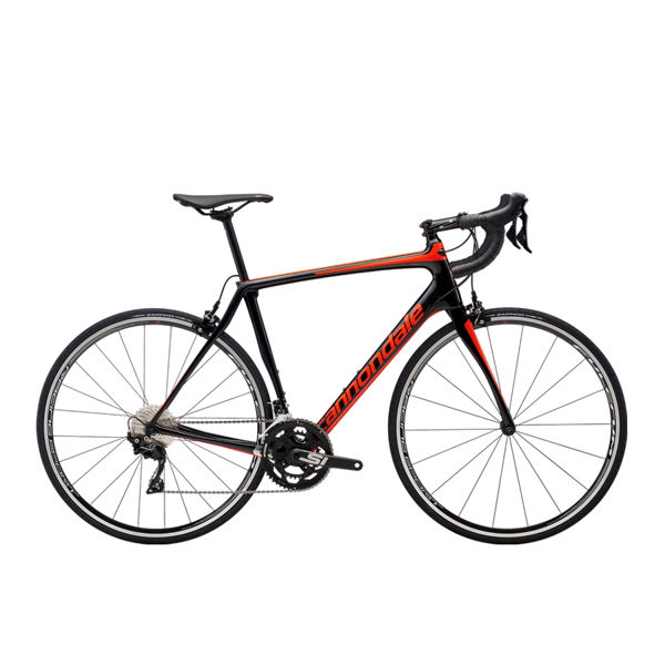 Picture of CANNONDALE ROAD BIKE SYNAPSE CARBON 105 BLACK/RED 2019
