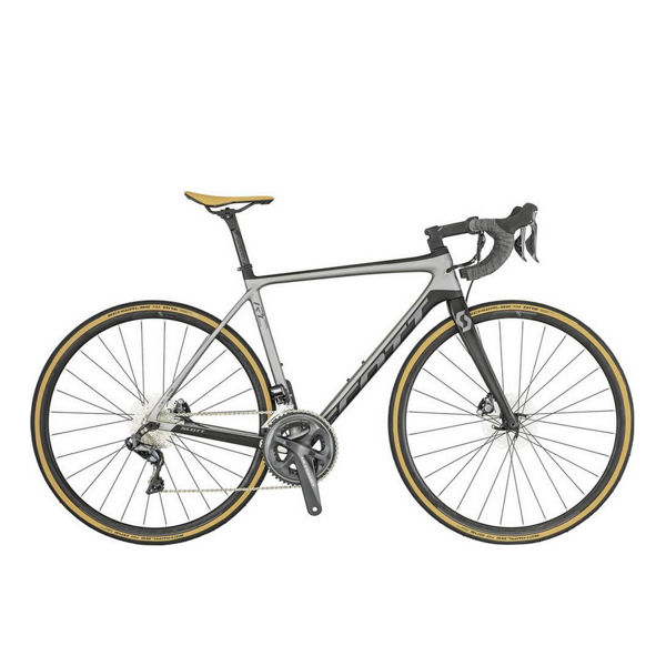 Picture of SCOTT ROAD BIKE ADDICT RC 15 DISC ULTEGRA GREY/BLACK 2019