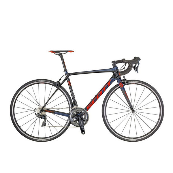 Picture of SCOTT ROAD BIKE ADDICT RC 10 BLUE/RED 2018