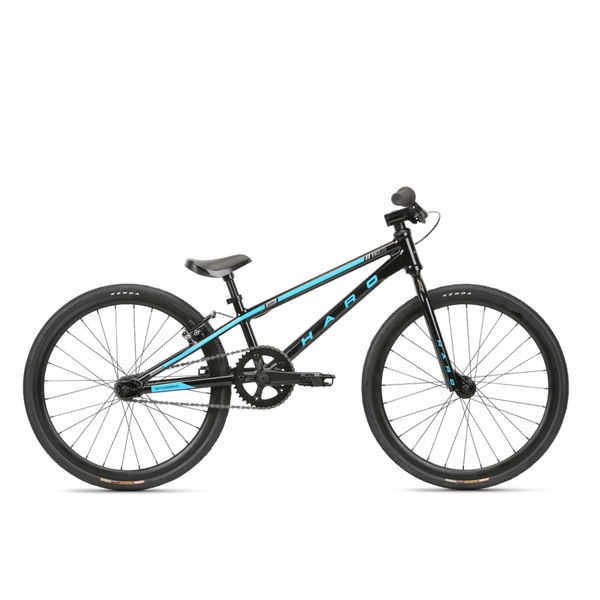 Picture of HARO BMX BIKE RACELITE MINI BLACK/BLUE 2020