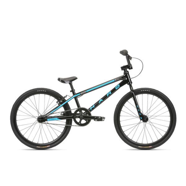 Picture of HARO BMX BIKE RACELITE JUNIOR BLACK/BLUE 2020