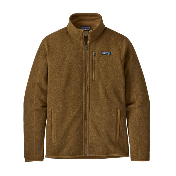 Image sur CHANDAIL DE SKI ALPIN PATAGONIA BETTER SWEATER FLEECE JACKET MULCH BROWN POUR HOMME