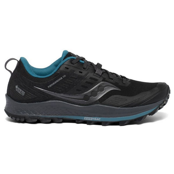 Picture of SAUCONY TRAIL RUNNING SHOES PEREGRINE 10 GTX BLACK/MARINE FOR WOMEN