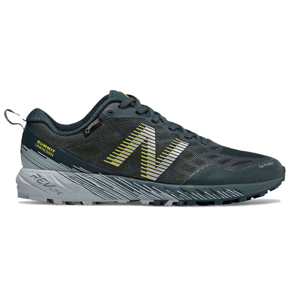 Picture of NEW BALANCE TRAIL RUNNING SHOES SUMMIT UNKNOWN GTX SUPERCELL WITH WINTER SKY AND SULPHUR YELLOW FOR WOMEN