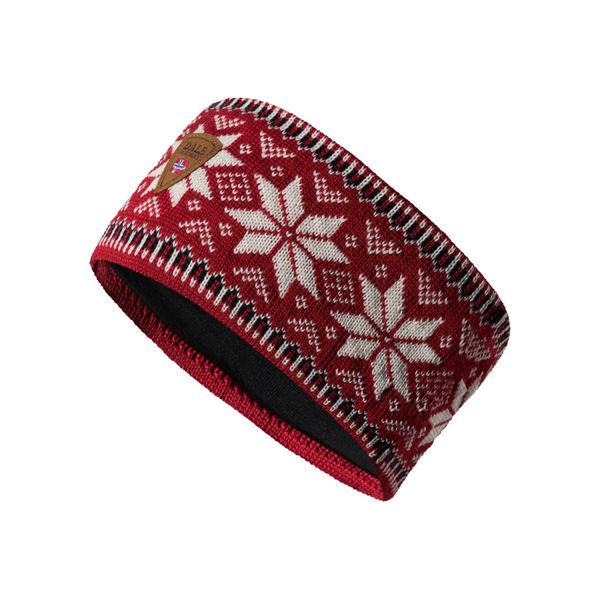 Picture of DALE OF NORWAY HAT GARMISCH RASPBERRY OFFWHITE NAVY