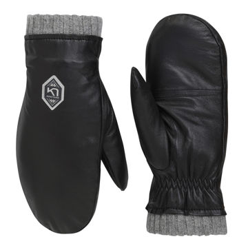Picture of KARI TRAA MITTENS HIMLE BLACK FOR WOMEN