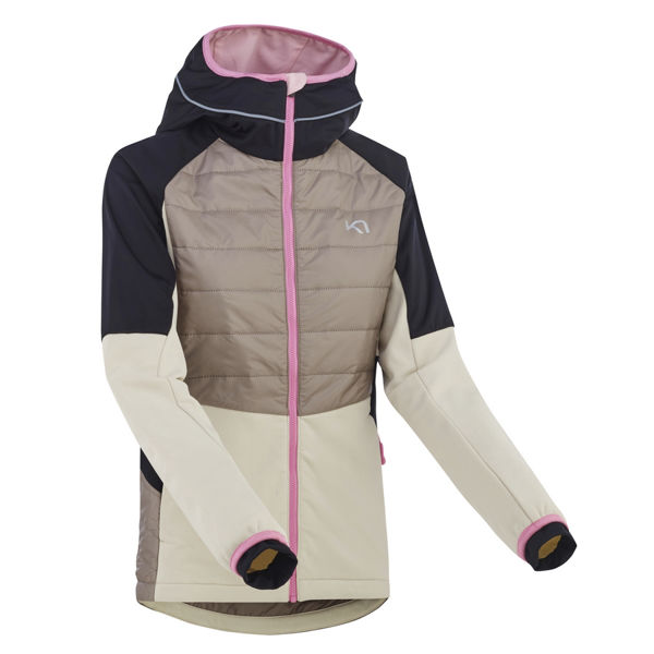 Picture of KARI TRAA RUNNING JACKET TIRILL CLAY FOR WOMEN