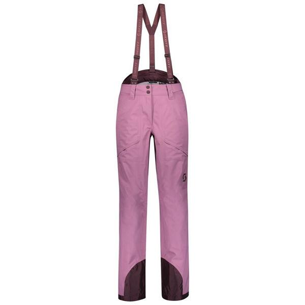 Picture of SCOTT ALPINE SKI PANTS EXPLORAIR 3L CASSIS PINK FOR WOMEN