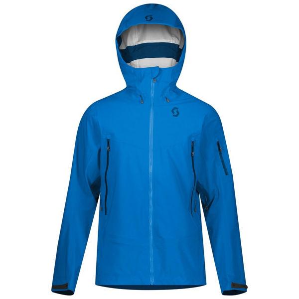 Picture of SCOTT ALPINE SKI JACKET EXPLORAIR DRX 3L SKYDIVE BLUE FOR MEN