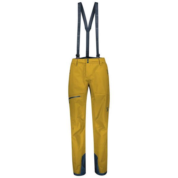 Picture of SCOTT ALPINE SKI PANT EXPLORAIR 3L ECRU OLIVE FOR MEN