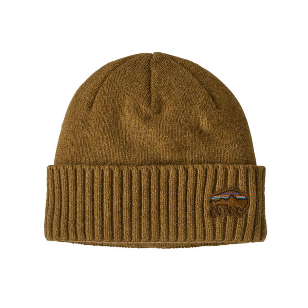 Image sur TUQUE PATAGONIA BRODEO BACK FOR GOOD BISON /MULCH BROWN