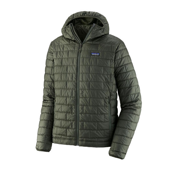 Picture of PATAGONIA ALPINE SKI JACKET NANO PUFF HOODY KELP FOREST FOR MEN