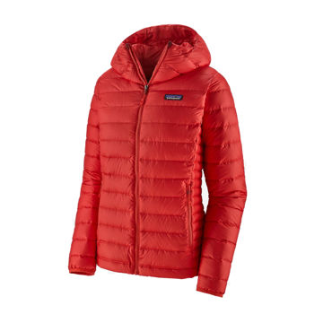 Picture of PATAGONIA ALPINE SKI JACKETS DOWN SWEATER HOODY CATALAN CORAL FOR WOMEN