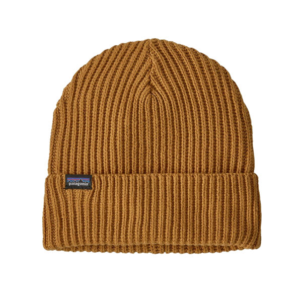 Image sur TUQUE PATAGONIA FISHERMANS ROLLED BUCKWHEAT GOLD