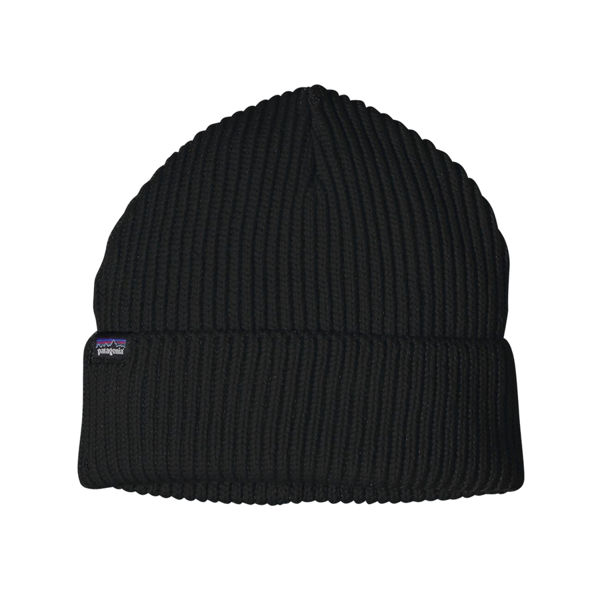 Image sur TUQUE PATAGONIA FISHERMANS ROLLED NOIR