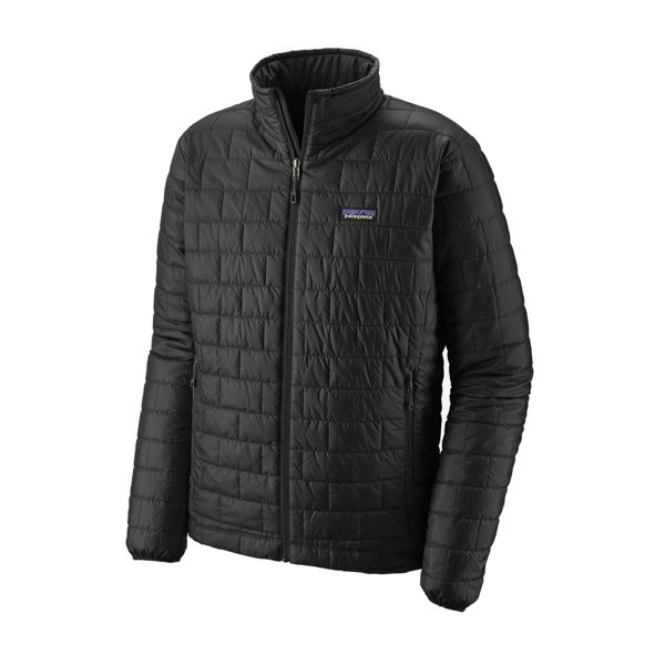 Picture of PATAGONIA ALPINE SKI JACKET NANO PUFF BLACK FOR MEN