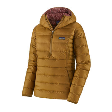 Picture of PATAGONIA ALPINE SKI JACKETS DOWN SWEATER HOODY PULLOVER MULCH BROWN FOR WOMEN