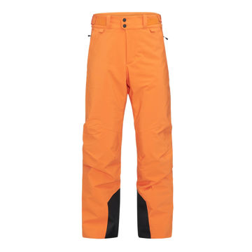 Image de PANTALON DE SKI ALPIN PEAK PERFORMANCE MAROON ORANGE ALTITUDE POUR HOMME