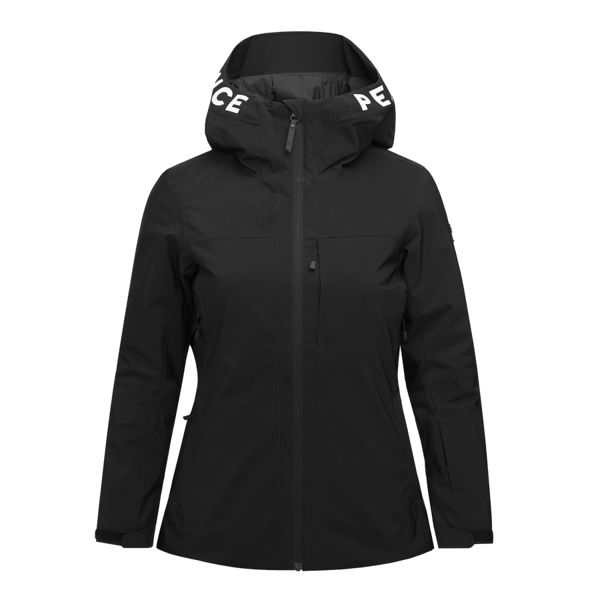 Picture of PEAK PERFORMANCE ALPINE SKI JACKETS RIDER SKI BLACK FOR WOMEN