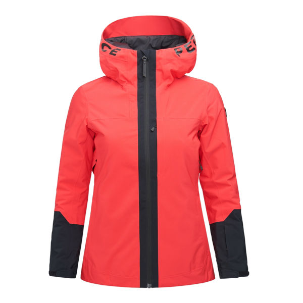 Picture of PEAK PERFORMANCE ALPINE SKI JACKETS RIDER SKI POLAR RED FOR WOMEN
