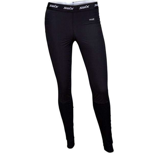 Picture of SWIX LEGGINGS RACEX BODYW PANTS WIND BLACK FOR WOMEN