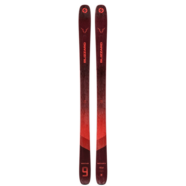 Picture of BLIZZARD ALPINE SKIS RUSTLER 9 RED 2021