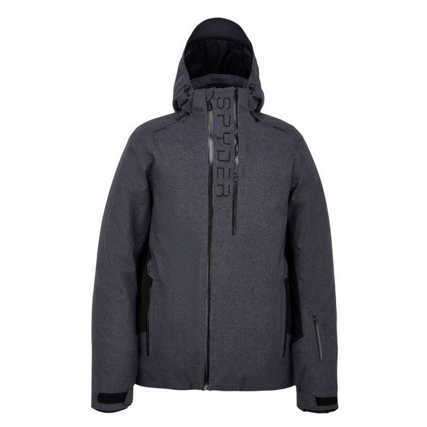Picture of SPYDER ALPINE SKI JACKET ORBITER GTX NOVELTY EBONY FOR MEN