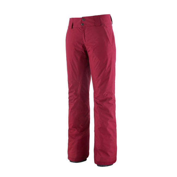 Picture of PATAGONIA ALPINE SKI PANTS INSULATED SNOWBELLE REGULAR ROAMER RED FOR WOMEN