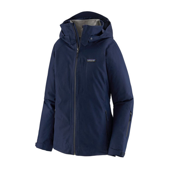 Picture of PATAGONIA ALPINE SKI JACKETS INSULATED POWDER BOWL CLASSIC NAVY FOR WOMEN