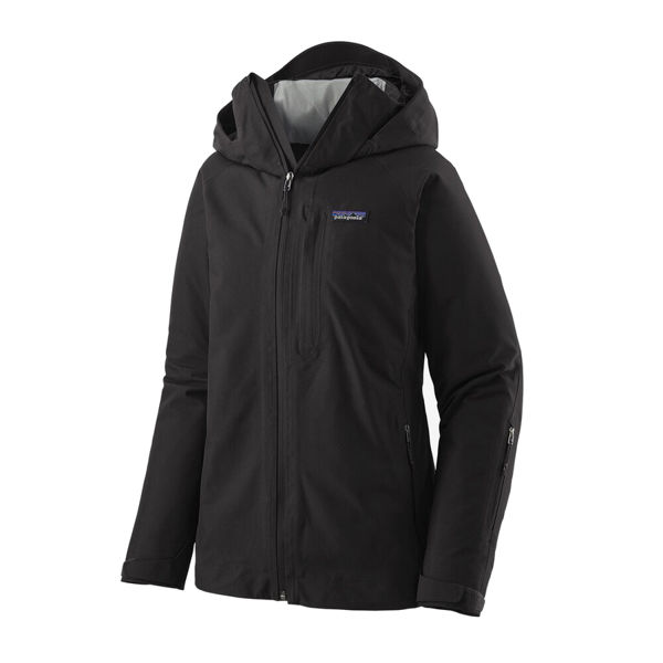 Picture of PATAGONIA ALPINE SKI JACKETS INSULATED POWDER BOWL BLACK FOR WOMEN