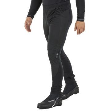 Picture of SWIX CROSS COUNTRY SKI PANT ALPAMAYO BLACK FOR MEN