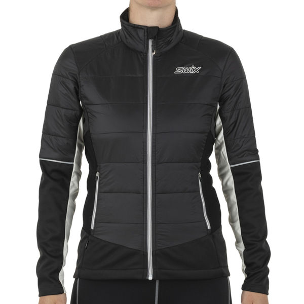 Picture of SWIX CROSS COUNTRY SKI JACKET NAVADO FULL ZIP BLACK FOR WOMEN