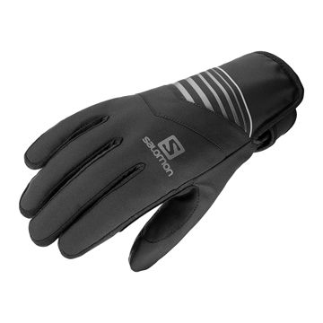 Image de GANTS SALOMON RS WARM BLACK/BLACK CHARCOAL