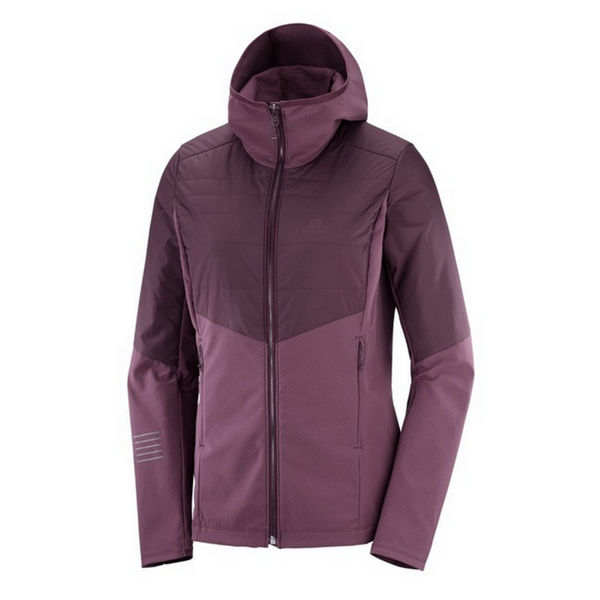 Picture of SALOMON CROSS COUNTRY SKI JACKET OUTSPEED INSULATED WINETASTING FOR WOMEN