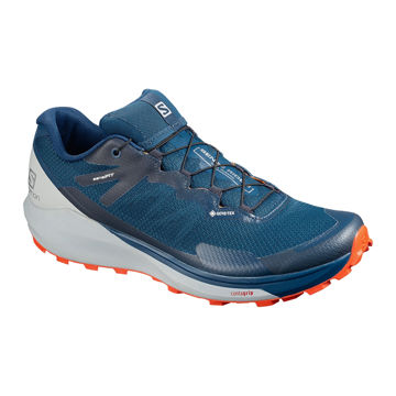 Picture of SALOMON TRAIL RUNNING SHOES SENSE RIDE 3 GTX INVIS. FIT POSEIDON FOR MEN