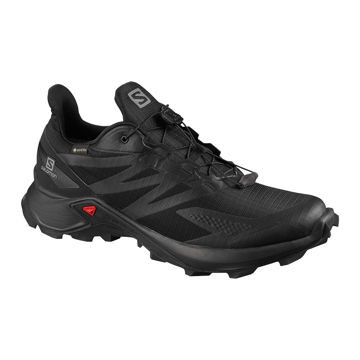 Picture of SALOMON TRAIL RUNNING SHOES SUPERCROSS BLAST GTX STORMY BLACK FOR MEN