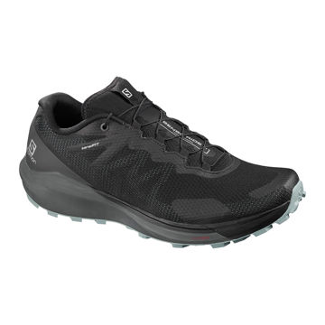 Picture of SALOMON TRAIL RUNNING SHOES SENSE RIDE 3 BLACK FOR MEN