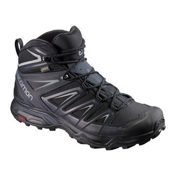 Picture of SALOMON TRAIL RUNNING SHOES X ULTRA 3 MID GTX BLACK / INDIA INK / MONUMENT FOR MEN