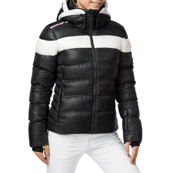 Picture of ROSSIGNOL ALPINE SKI JACKETS HIVER DOWN BLACK FOR WOMEN
