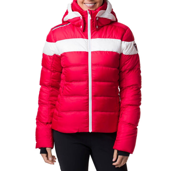 Picture of ROSSIGNOL ALPINE SKI JACKETS HIVER DOWN RED FOR WOMEN