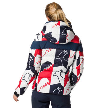 Picture of ROSSIGNOL ALPINE SKI JACKETS HIVER DOWN ROOSTER DARK NAVY FOR WOMEN
