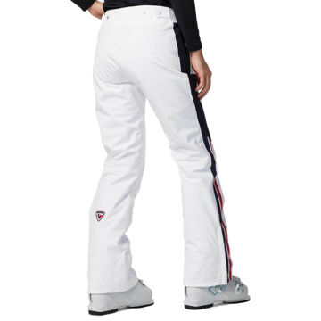 Picture of ROSSIGNOL ALPINE SKI PANTS EMBLEME WHITE FOR WOMEN