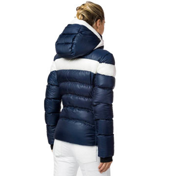 Picture of ROSSIGNOL ALPINE SKI JACKETS HIVER DOWN DARK NAVY FOR WOMEN