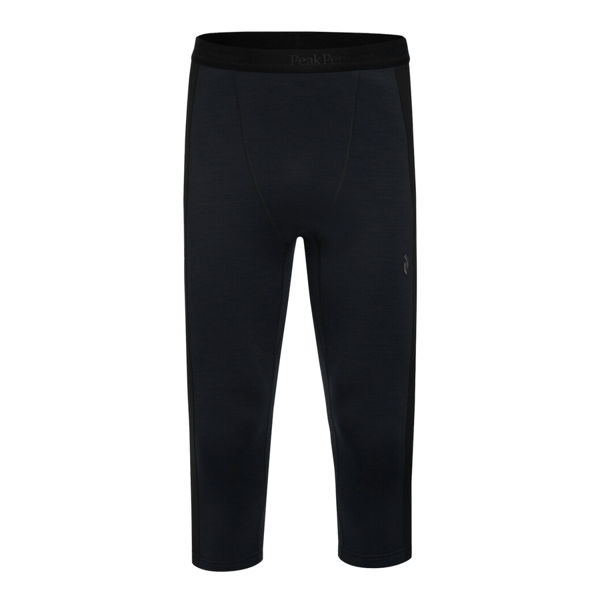 Picture of PEAK PERFORMANCE ALPINE SKI PANT VERTICAL MID TIGHTS BLACK FOR MEN