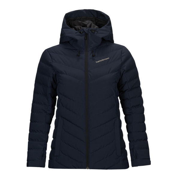 Image sur MANTEAU DE SKI ALPIN PEAK PERFORMANCE FROST SKI BLUE SHADOW POUR FEMME